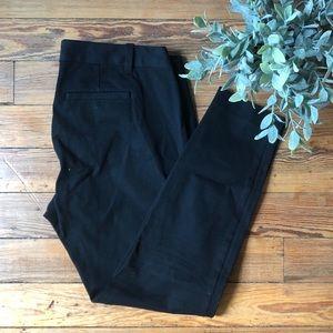 GAP Pants - Gap Slim Cropped Black Maternity Pants